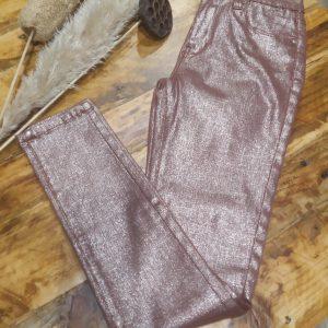 Pantalon Rosa Metalizado
