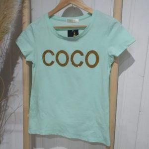Camiseta Coco Turquesa
