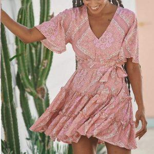 Vestido Afrodita Print Daya
