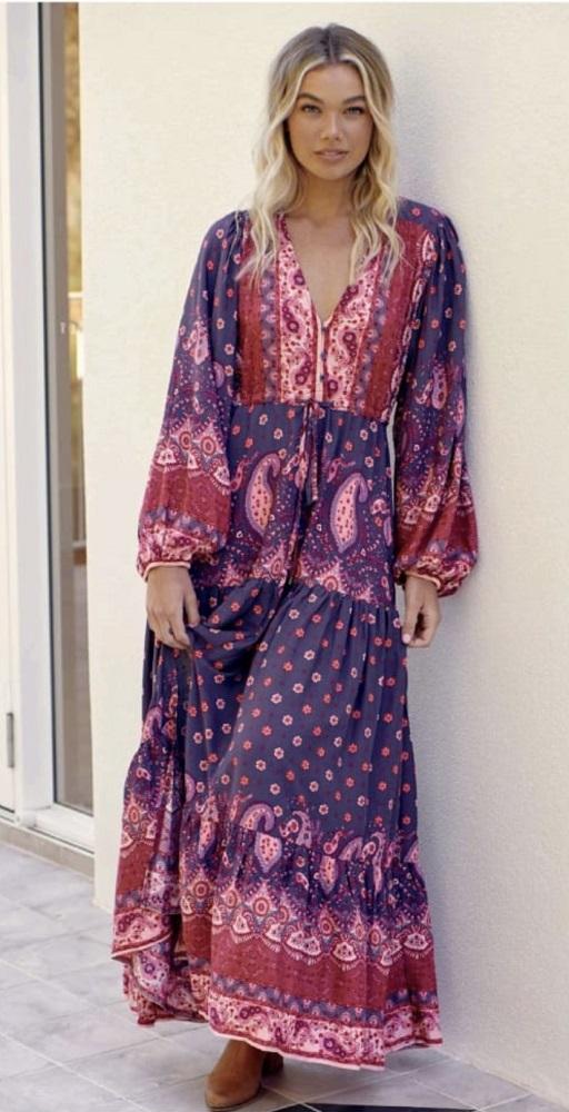 Vestido Rosewood Print Tessa